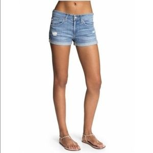 AG Jean Pixie roll up shorts
